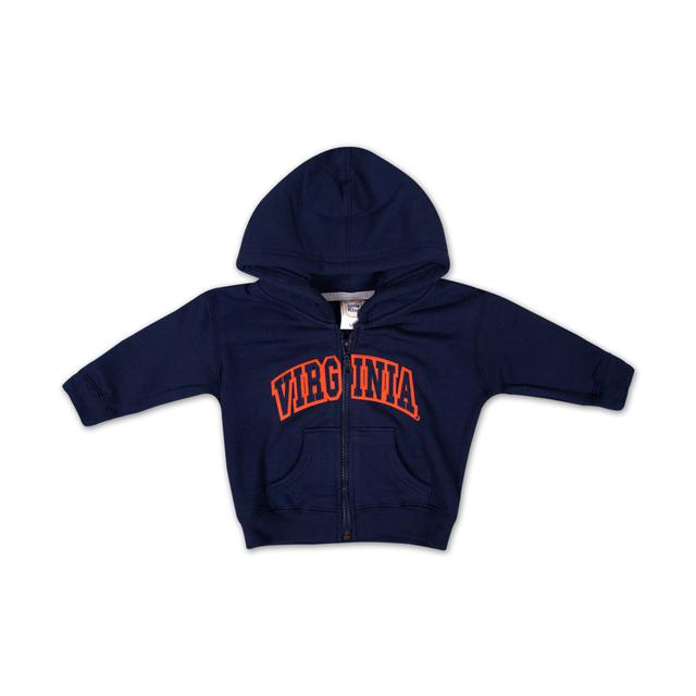 UVA Infant Arch Full Zip Hoody