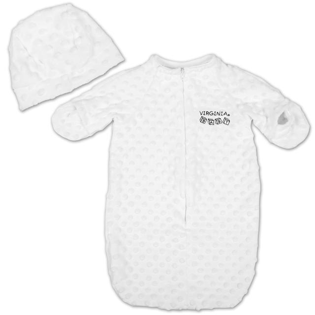 UVA Newborn Baby Bunting w/Hat