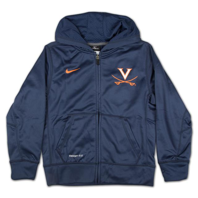 UVA Youth KO Full-Zip Hoodie