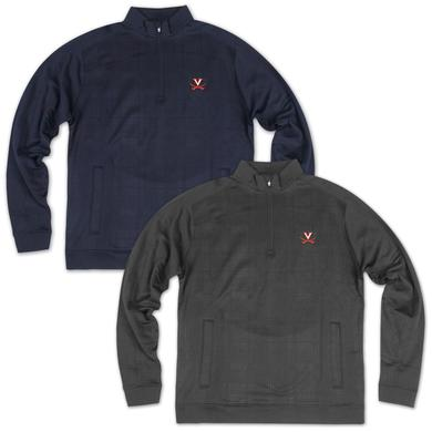 UVA Drytec Kingsgate Embossed Half Zip Fleece