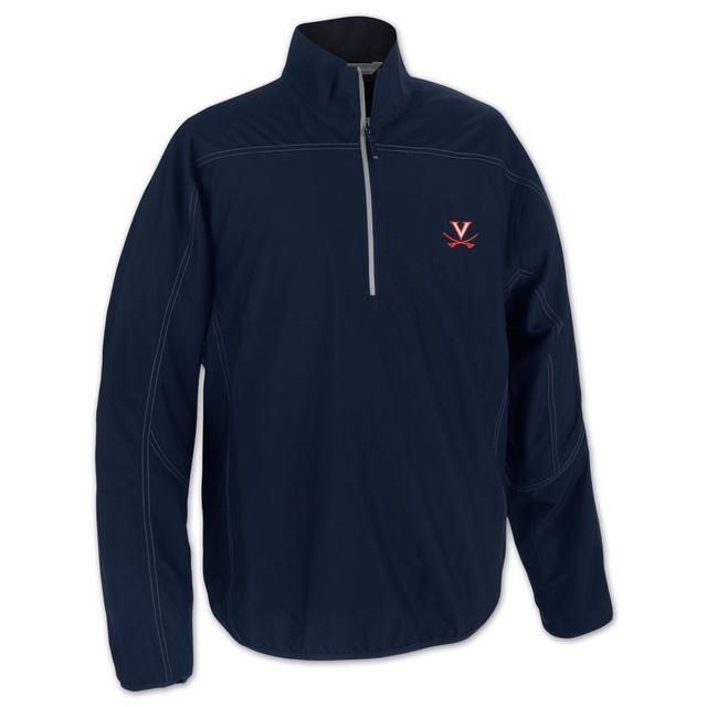 UVA Golf Weathertec Kenmore Half Zip Jacket
