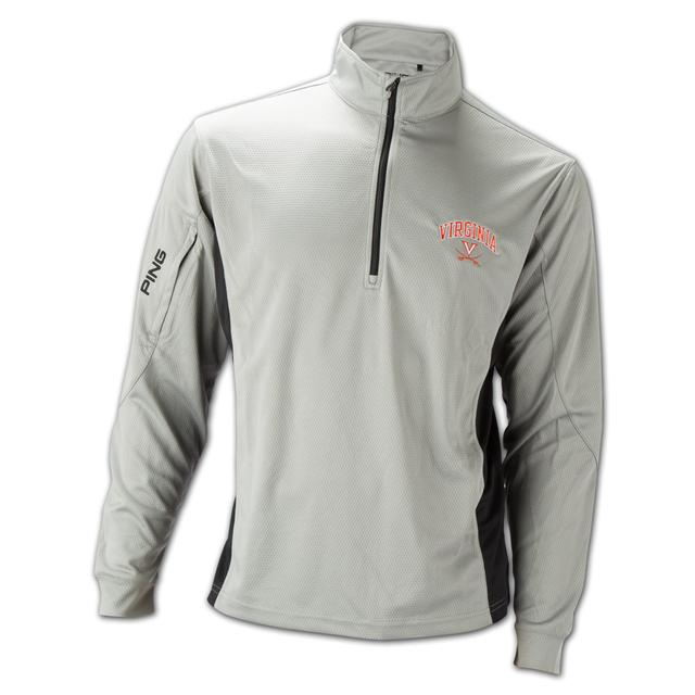 UVA PING Backswing 1/4 Zip Pullover