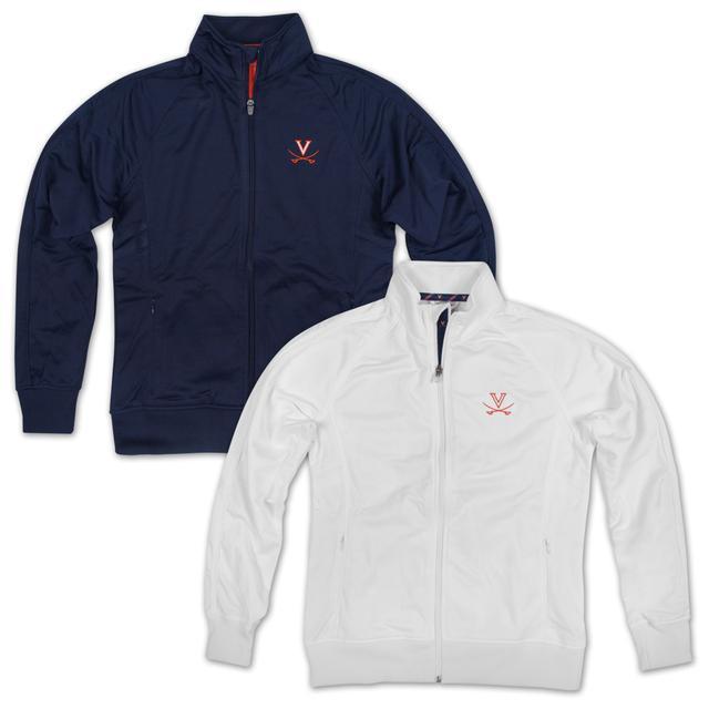UVA LEVELWEAR Ladies Venture Tape Full Zip Jacket