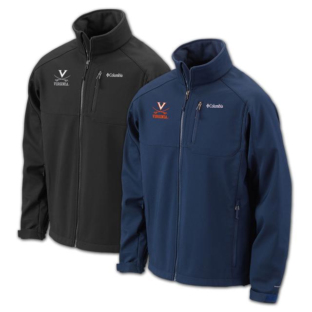 UVA Columbia Ascender Full Zip Jacket