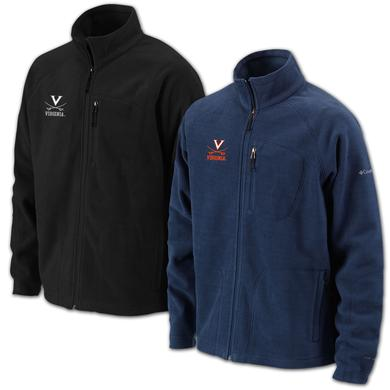 UVA Columbia Thermatrek Full Zip Jacket