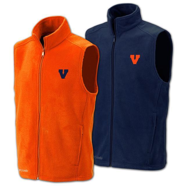 UVA Columbia Flanker Full Zip Vest