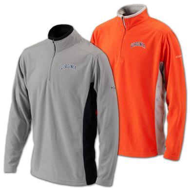 UVA Columbia Klamath Range Half Zip Jacket