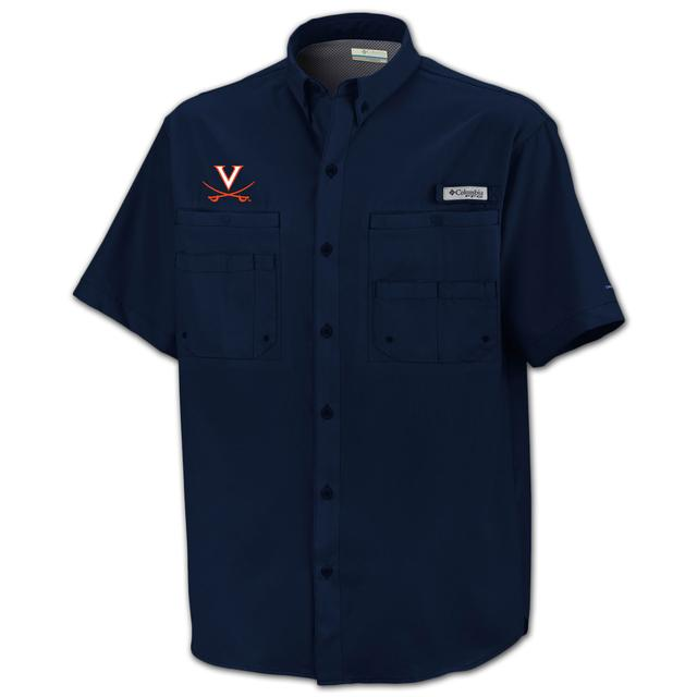 UVA Columbia Tamiami Fishing Shirt