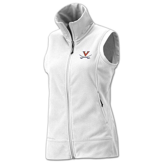 UVA Columbia Ladies Give and Go Full Zip Vest