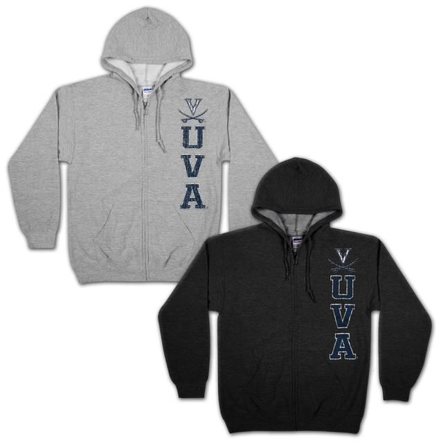 UVA The Game Essential Full Zip Hoodie