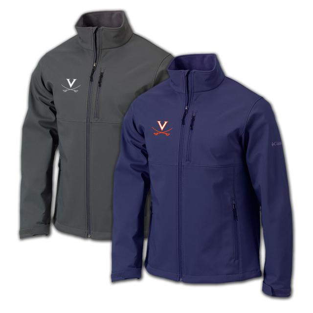 UVA Columbia Ascender Softshell Jacket