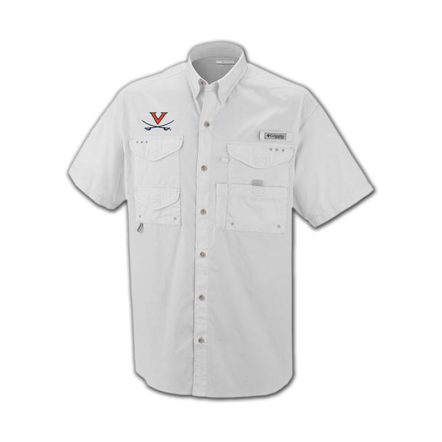 UVA Columbia Bonehead Short Sleeve Shirt