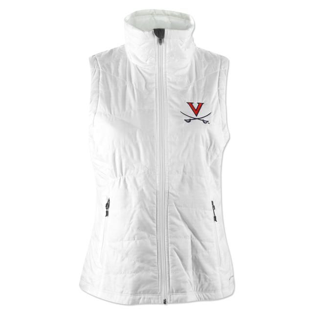 UVA Columbia Ladies Mighty Lite Vest
