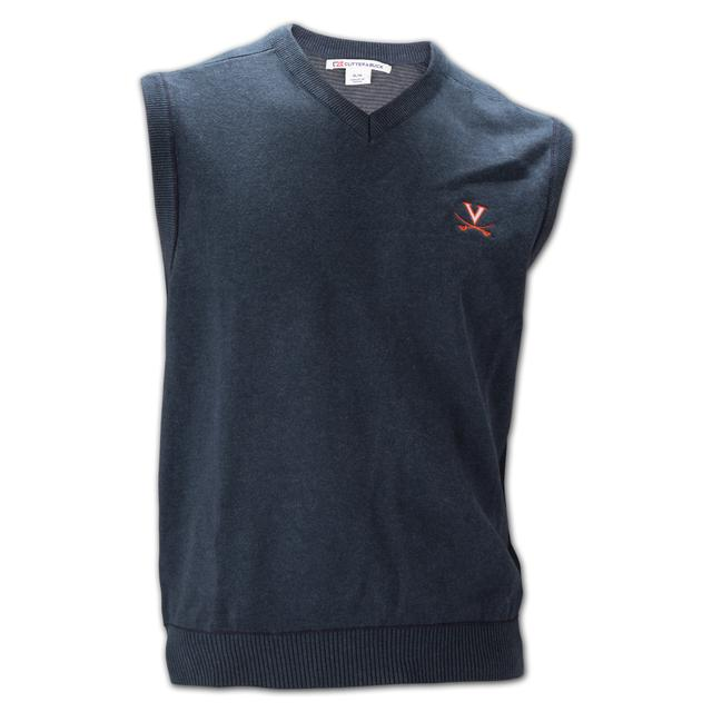 UVA Athletics Cutter & Buck Broadview Sweater Vest