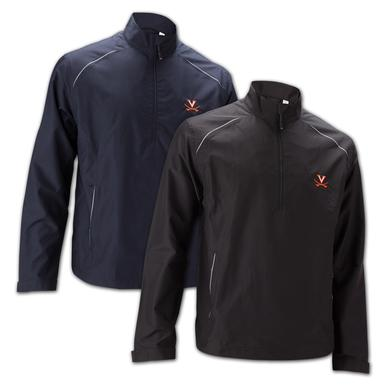 UVA Athletics Cutter & Buck Weathertec Beacon Half Zip Jacket