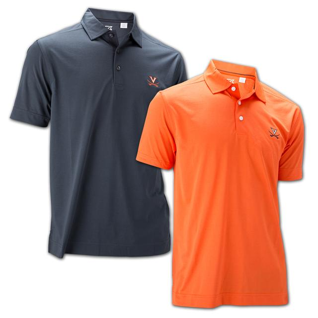UVA Athletics Cutter & Buck Drytex Medina Tonal Polo