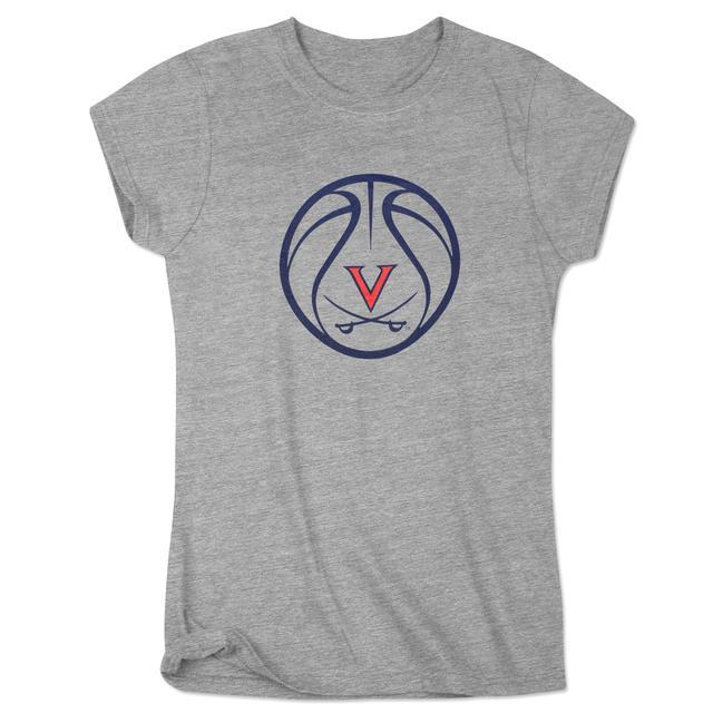 UVA Basketball Ladies Dunk T-Shirt
