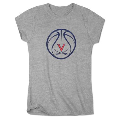 UVA Basketball Ladies Dunk T-Shirt