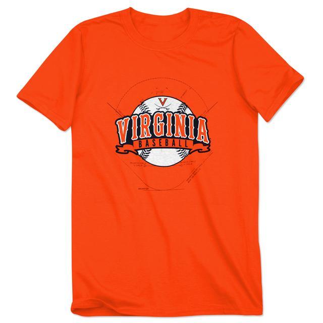 UVA Baseball Script T-Shirt