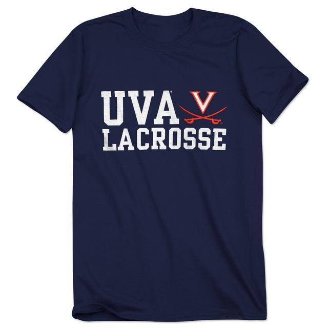 UVA Lacrosse Block T-Shirt