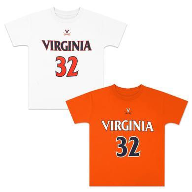 UVA Basketball #32 Youth Replica Jersey T-shirt