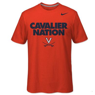 UVA NIKE Cavalier Nation T-Shirt