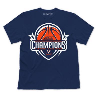 UVA 2016 ACC Men's Basketball Champions Youth T-Shirt [NAVY]