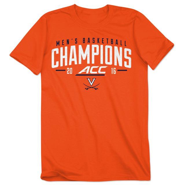 UVA 2016 ACC Men's Basketball Champions T-Shirt [ORANGE]