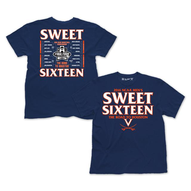 UVA Men's Basketball 2016 NCAA Sweet Sixteen T-Shirt