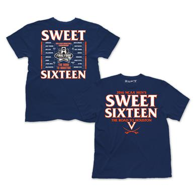 UVA Men's Basketball 2016 NCAA Sweet Sixteen T-Shirt