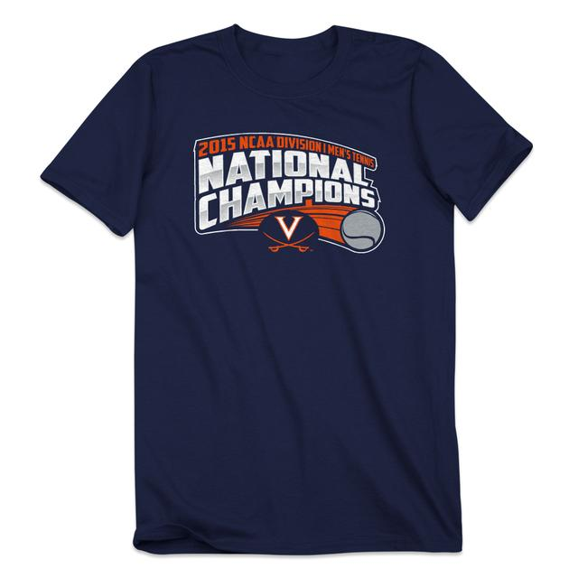 UVA 2015 Men's Tennis Champions T-Shirt