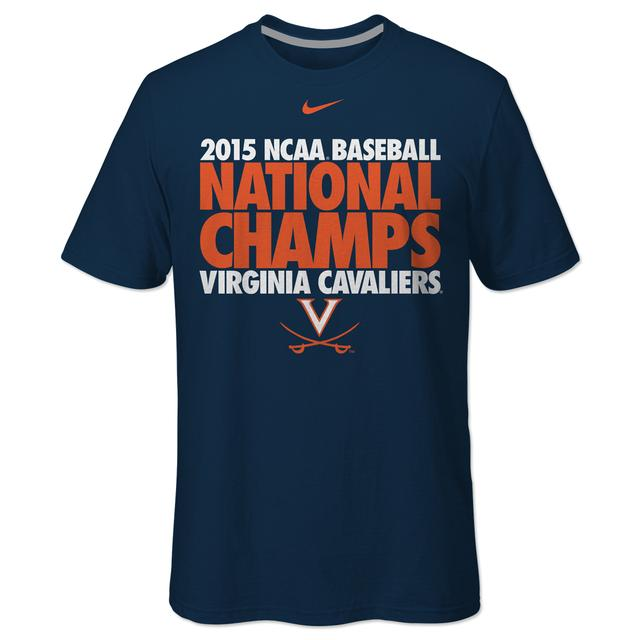 UVA CWS Champions Celebration T-Shirt