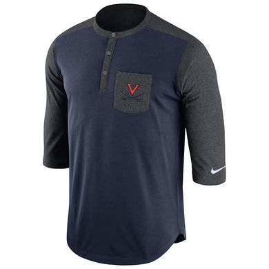NIKE UVA Dri-FIT Touch Henley T-Shirt