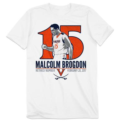 UVA Athletics Malcolm Brogdon Retired Number T-Shirt