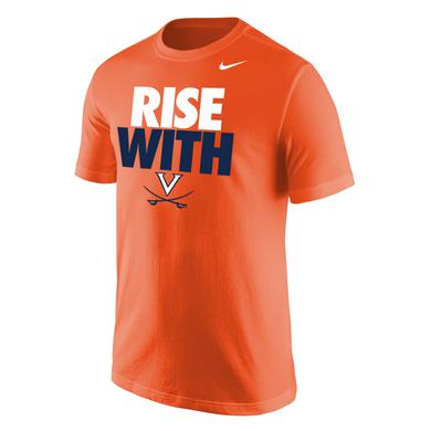 UVA Athletics University of Virginia Rise With T-shirt