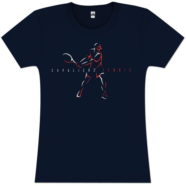 UVA Cavalier Tennis Ladies T-shirt