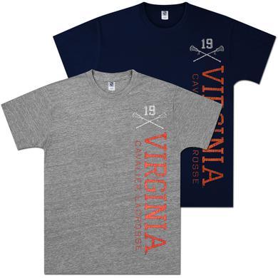 UVA Lacrosse Vintage Vertical T-shirt