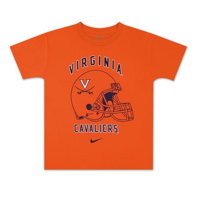 UVA Boys Wahoos Helmet T-shirt