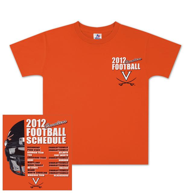 UVA 2012 Football Schedule Youth Tee