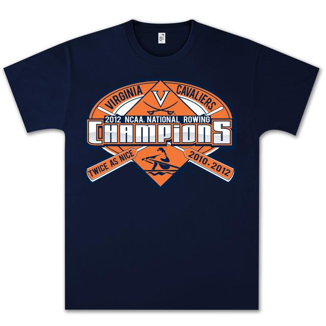 UVA 2012 NCAA Rowing Champs T-Shirt