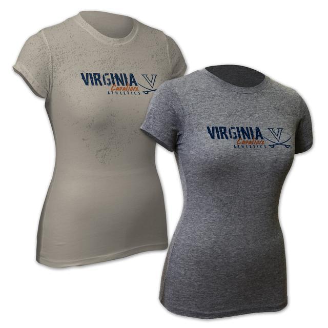 UVA Vintage Logo Junior T-shirt