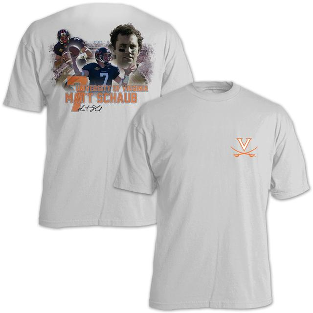 UVA Athletics Matt Schaub #7 Stadium Flashback T-Shirt