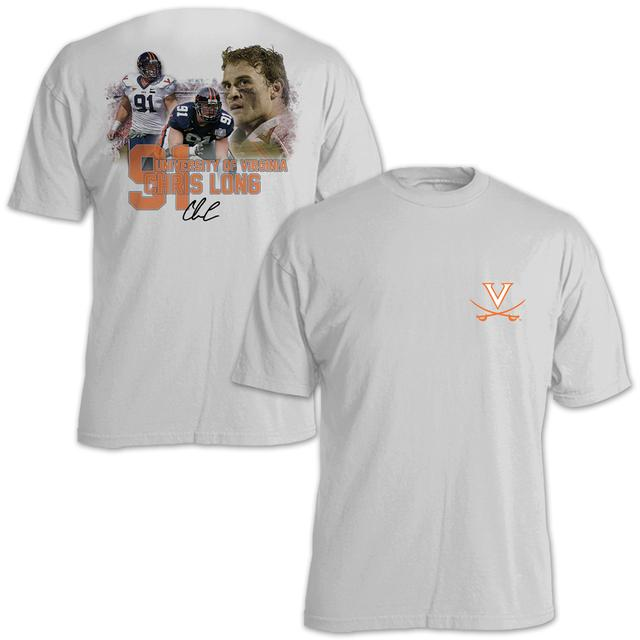 UVA Athletics Chris Long #91 Stadium Flashback T-Shirt