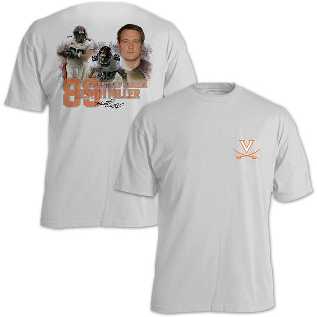 UVA Athletics Heath Miller #89 Stadium Flashback T-Shirt