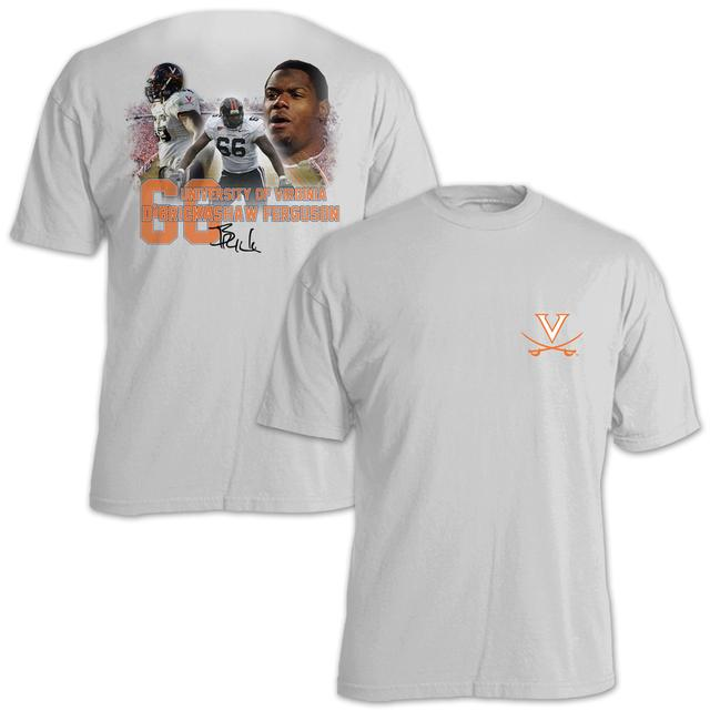 UVA Athletics D'Brickashaw Ferguson #66 Stadium Flashback T-Shirt