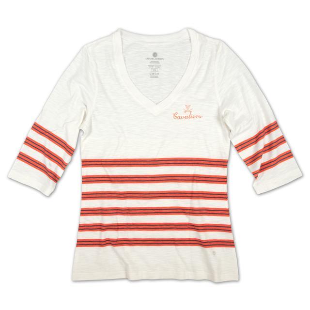 UVA LEVELWEAR Ladies Wraparound V-neck Longsleeve Shirt