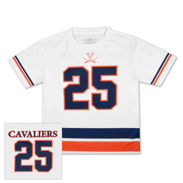 UVA #25 Football Youth Jersey T-shirt