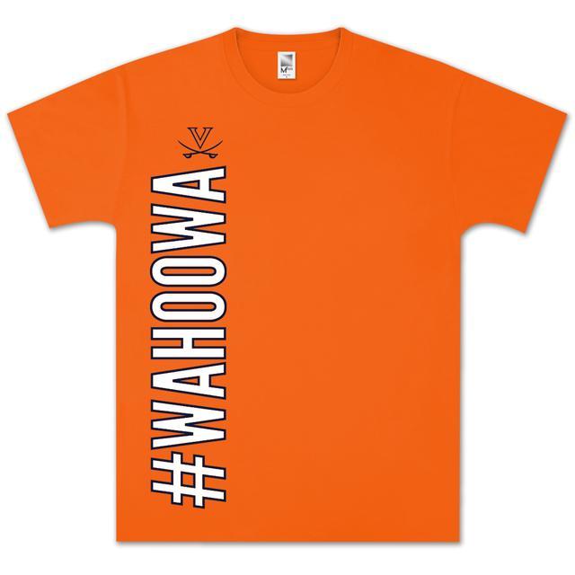 UVA #Wahoowa Vertical T-Shirt