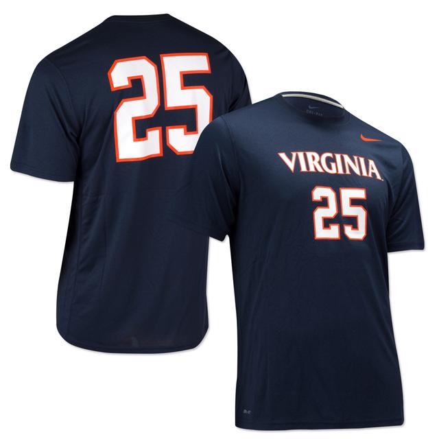 UVA Nike Legend Number T-shirt