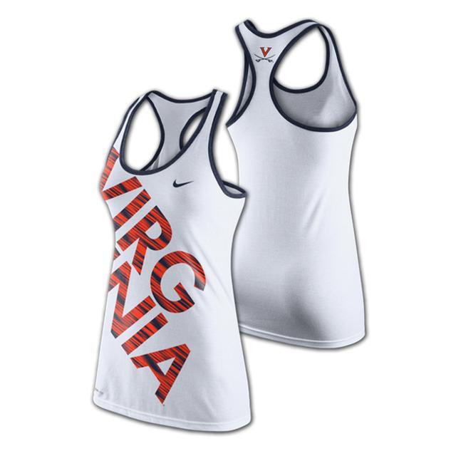 UVA Nike Ladies Warp Tank